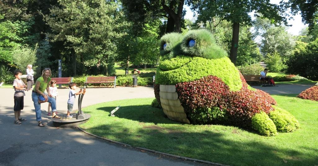 Parcs et jardins de Nantes